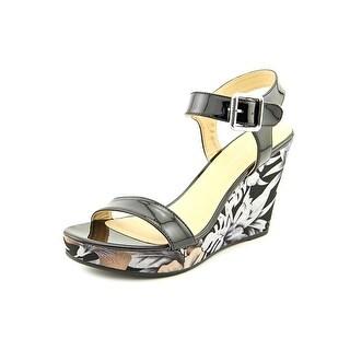 CL By Laundry Infinity Women Open Toe Synthetic Wedge Heel