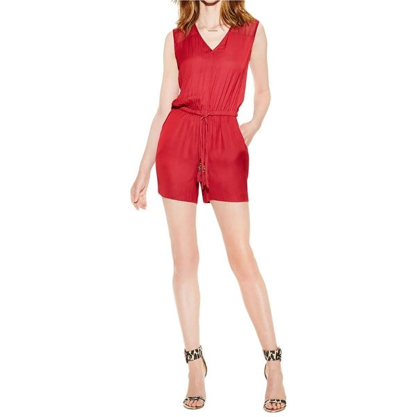 1808a24c2671 Shop Vince Camuto Womens Romper Chiffon Rumpled - Free Shipping On ...