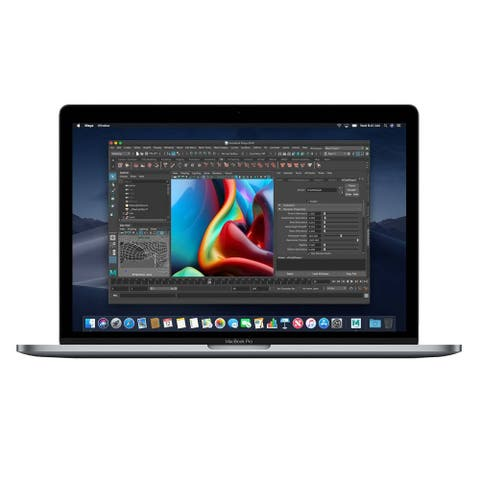 Macbook Pro 15.4-inch (Retina DG, Silver, Touch Bar) 2.6Ghz 6-Core i7 (Mid 2018) 512 GB Hard Drive 16 GB Memory - Silver