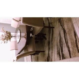 "Carolina Weavers American Tradition Collection Swift Oak Multi Area Rug - 7'10"" x 10'10"""