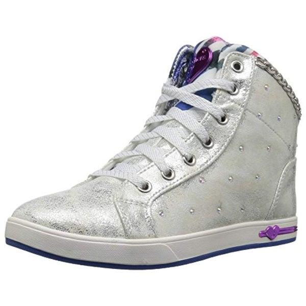 57fc8a50a2aa Shop Skechers Kids Girls  Shoutouts-Chill-Ups Sneaker