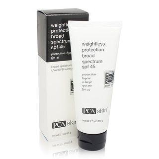 PCA SKIN Weightless Protection Broad Spectrum SPF 45 2.1 Ounces