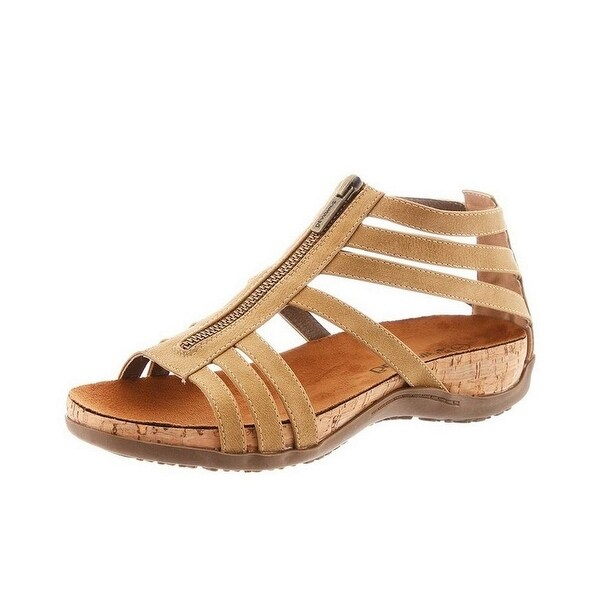 Bearpaw Casual Sandals Womens Layla Faux Leather Upper Zip