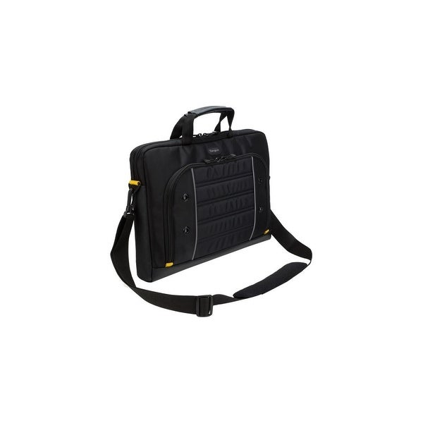 """Targus TSS874 Targus Drifter Carrying Case (Briefcase) for 15.6"""" Notebook - Black, Gray - Weather Resistant - Trolley"""