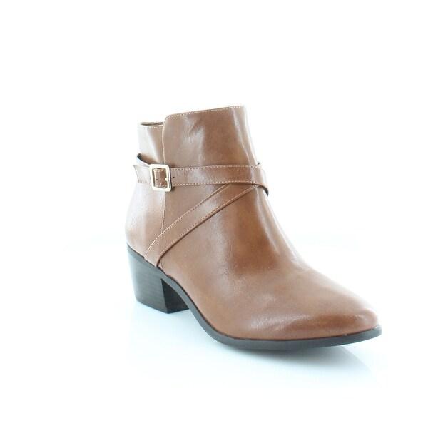 Karen Scott Flynne Women's Boots Cognac - 10