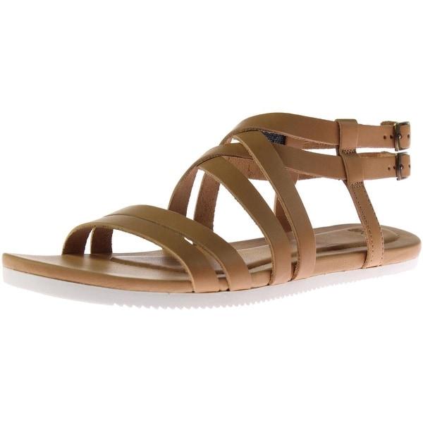 Teva Womens Avalina Gladiator Sandals Leather Crossover