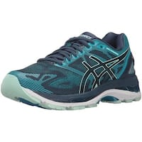 ASICS Womens gel nimbus 19 lite-show Fabric Low Top Lace Up Running Sneaker