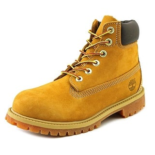 Timberland 6in Prem Youth Round Toe Leather Tan Boot