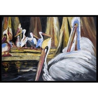 Carolines Treasures JMK1137MAT Pelicans Indoor & Outdoor Mat 18 x 27 in.