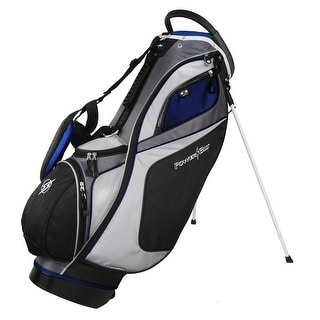 Powerbilt TPS Dunes 14-Way Black/Blue Stand Golf Bag