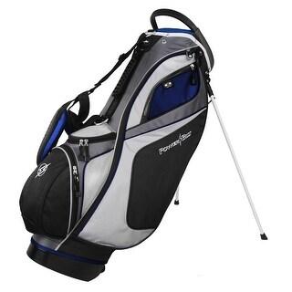 Powerbilt TPS Dunes 14-Way Black/Blue Stand Golf Bag
