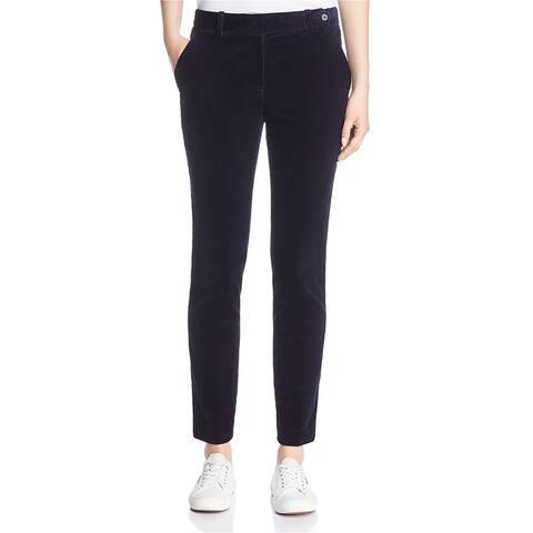 Theory Womens Corduroy Dress Pants, blue, 10