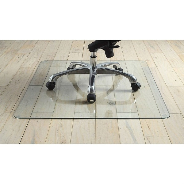 36 Inch Tempered Gl Chair Mat