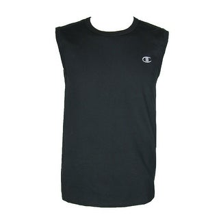 Champion Men's Cotton Jersey Sleeveless Muscle Tank Shirt