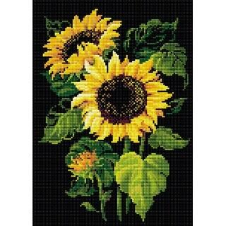 "Riolis Diamond Mosaic Embroidery Kit 10.75""X15""-Sunflowers"