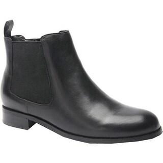 Ros Hommerson Women's Bridget Bootie Black Leather