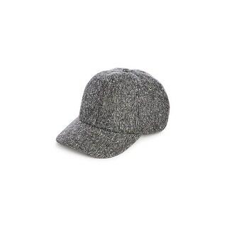 Overhead Ball Cap Wool Blend Tweed - O/S