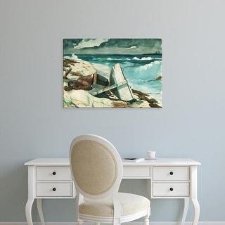 Easy Art Prints WInslow Homer's 'After the Hurricane' Premium Canvas Art