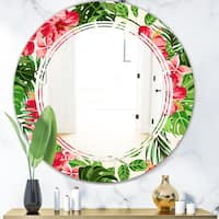 Green Wall Mounted Mirrors Shop Online At Overstock