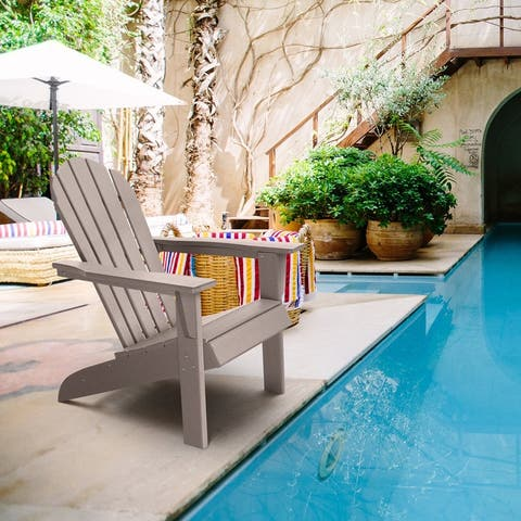 Resin Adirondack Chair Outdoor Patio Furniture