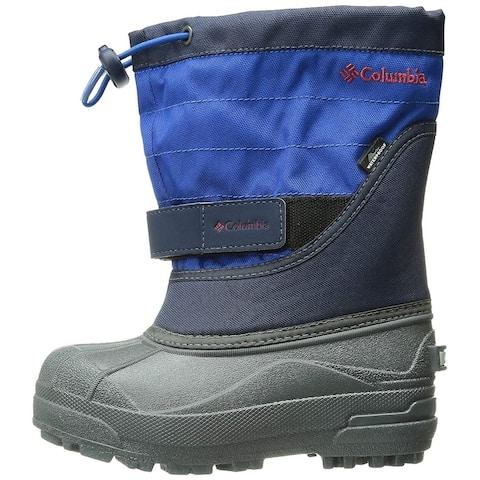 Kids Columbia Girls powderbug plus ll Mid-Calf Pull On Snow Boots