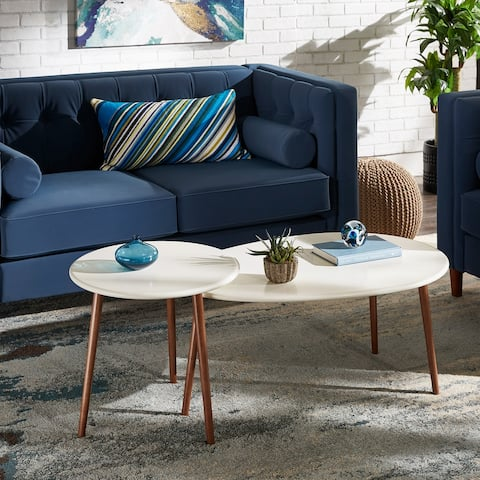 Marisol Two-Tone Nesting Table Set by iNSPIRE Q Modern