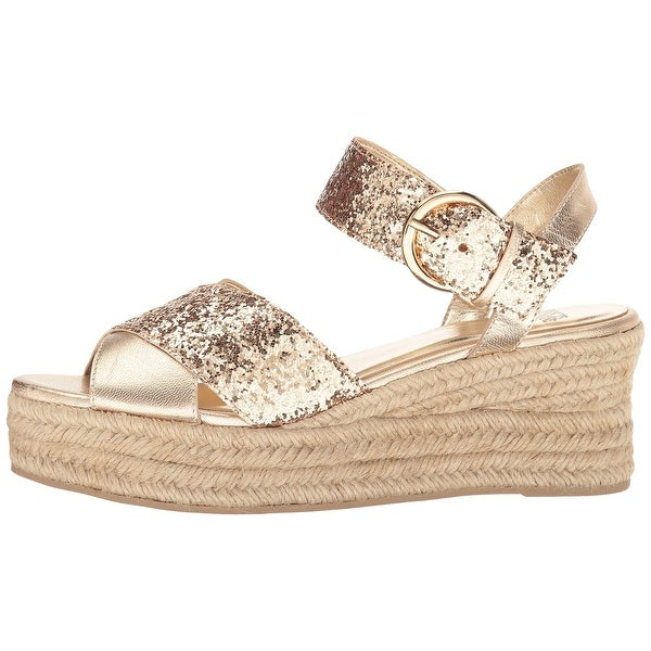 Frances Valentine Womens Brooke Leather Peep Toe Special Occasion Platform Sa...