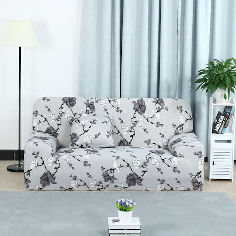 Stretch Fabric Sofa Slipcovers for Chair Loveseats Couch 1/2/3 Seats - Style 7