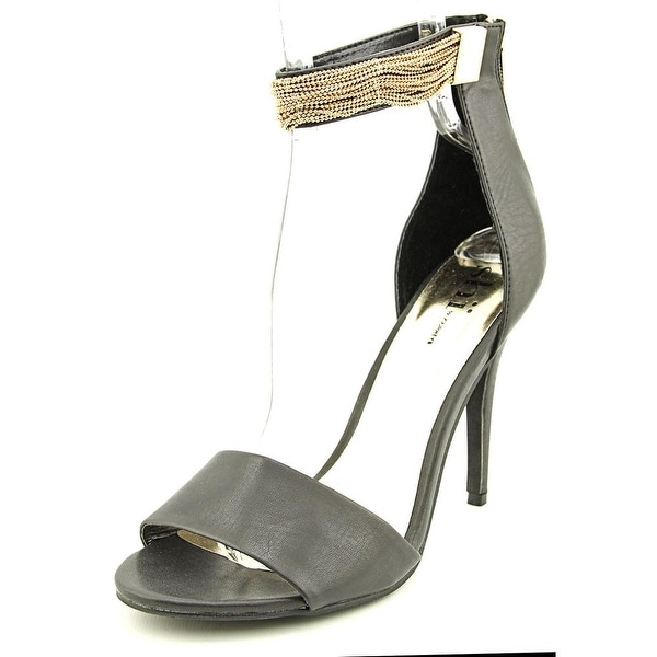 Famous Name Brand Ferrera Women  Open Toe Synthetic  Sandals