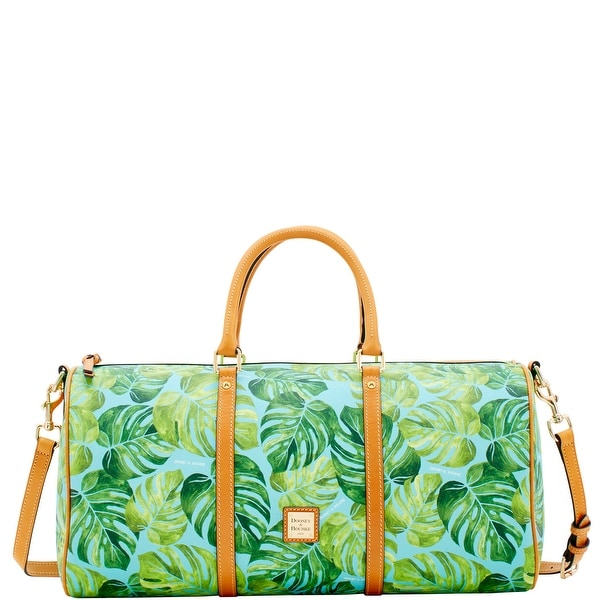 Dooney Bourke Montego Coated Cotton Gym Duffle Introduced By