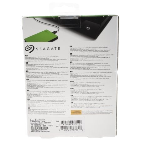 Seagate - 4Tb Portable Game Drive For Xbox Usb3.0