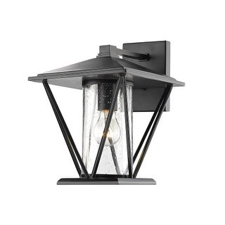"""Millennium Lighting 2522 Single Light 12-1/4"""" High Outdoor Wall Sconce with Glass Shade"""