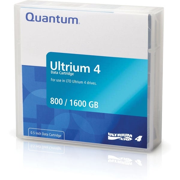 Quantum Mr-L4mqn-01 Lto Ultrium 4-Tape Standard Cartridge
