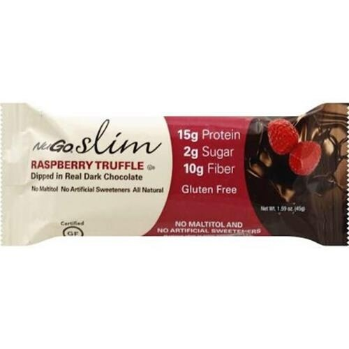 Nugo Nutrition - Nugo Slim Raspberry Truffle Bar ( 12 - 1.59 OZ)