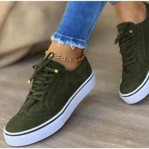 Women's Comfortable Casual Lace-Up Shoes