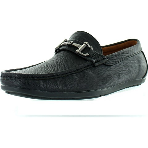 Reverse Mens F41069 European Style Designer Chain Casual Loafers Shoes