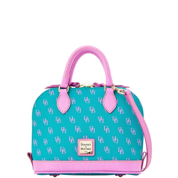 Dooney & Bourke Gretta Bitsy Bag (Introduced by Dooney & Bourke at $178 in Jan 2016) - spearmint lavender
