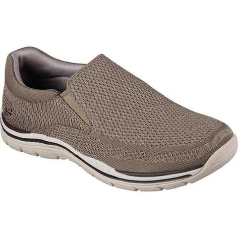 9fd01546f8 Skechers Men s Relaxed Fit Expected Gomel Slip-On Sneaker Taupe