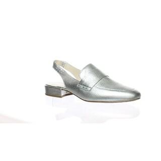 Kenneth Cole Womens Bavi W Silver Slingbacks Size 9 (C,D,W)