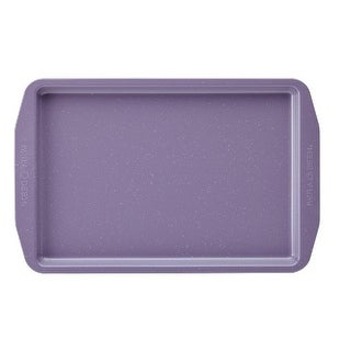 Paula Deen 46252 Speckle Nonstick Bakeware 10 x 15 in. Cookie Pan, Lavender Speckle