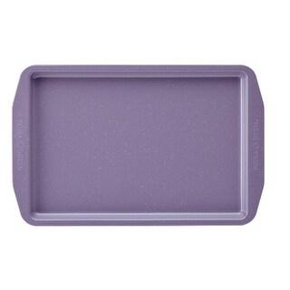 Paula Deen 46253 Speckle Nonstick Bakeware 11 x 17 in. Cookie Pan, Lavender Speckle