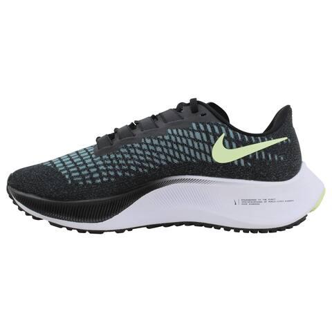 Nike Air Zoom Pegasus 37 Black/Glacier Ice-Barely Volt BQ9647-004 Women's