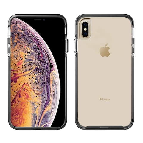 Pelican Ambassador Slim & Stylish Case for iPhone Xs Max - Clear/Black/Silver