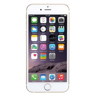 Apple iPhone 6 64GB AT&T Locked 4G LTE Phone w/ 8MP Camera - Gold (Refurbished)