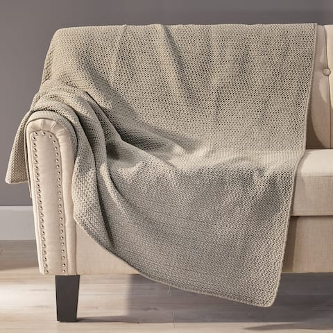 Baxendale Modern Throw Blanket by Christopher Knight Home