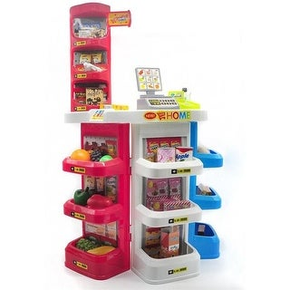 AZ Import PS820 Supermarket Grocery Store Playset - 32 Pieces