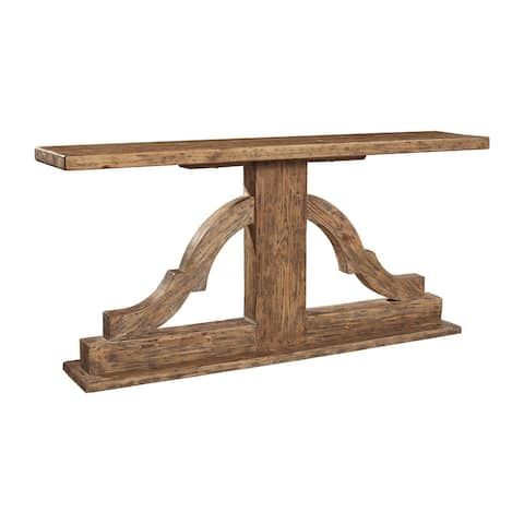 Scarborough 72.5-inch Console in Reclaimed Pine