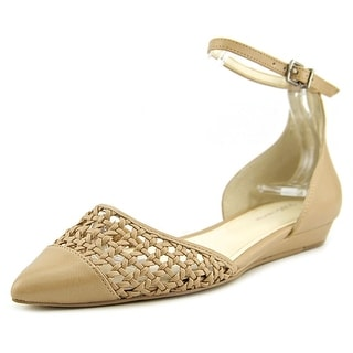 BCBGeneration Hunny-X Women Pointed Toe Leather Tan Flats