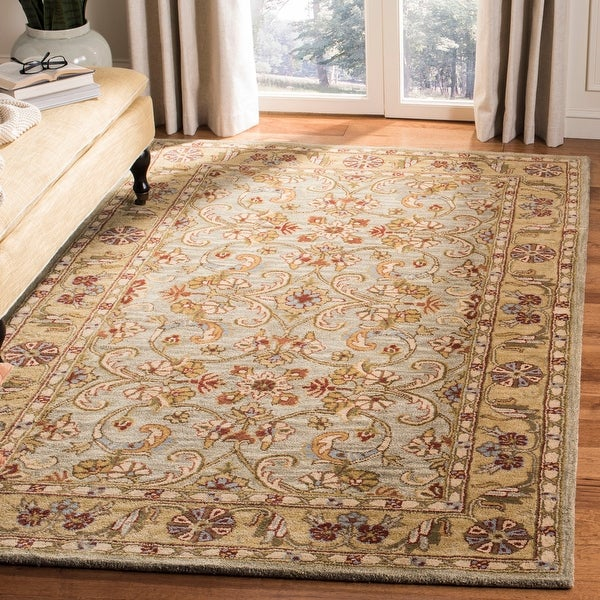 Safavieh Handmade Classic Else Traditional Oriental Wool Rug. Opens flyout.