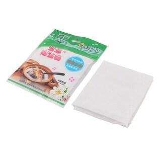 Unique BargainsHousehold Empty Spice Powder Soup Herbal Filter Bag White 29cm x 42cm 2 Pcs